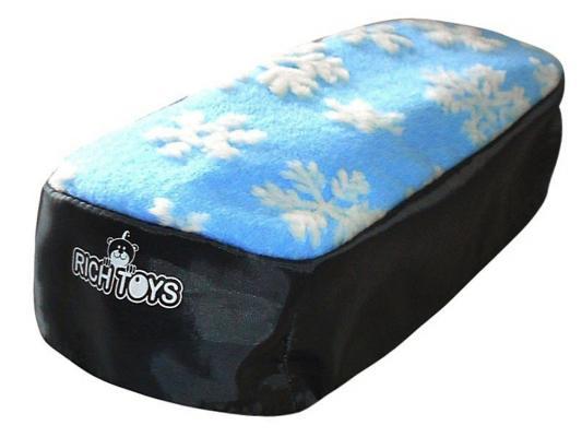 Чехол для снегокатов RT 2713 голубой мех ткань чехол для снегокатов rt 2711 мех ткань белый черный