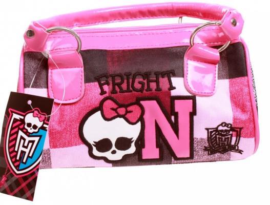 Сумка Monster High Школа монстров рисунок розовый 1309 сумка monster high школа монстров рисунок розовый 1309
