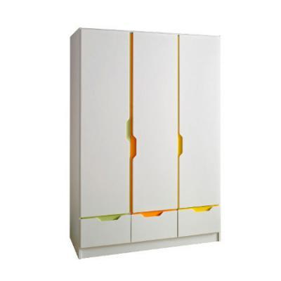 Шкаф трехстворчатый Geuther Fresh (цветная панель) geuther fresh