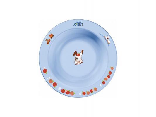 Тарелка Avent SCF706/01 1 шт голубой от 6 месяцев