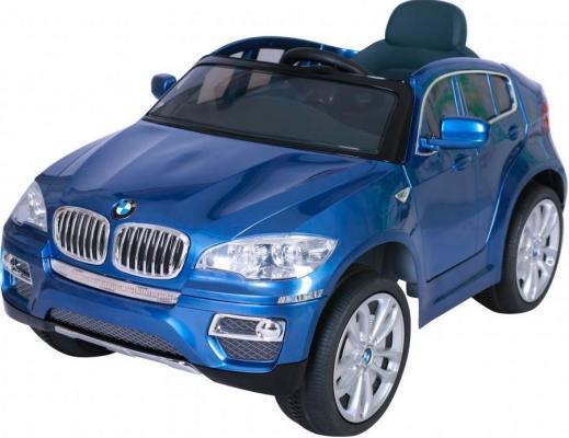 Электромобиль Kids Cars BMW X6 Синий (одноместный) cars galore