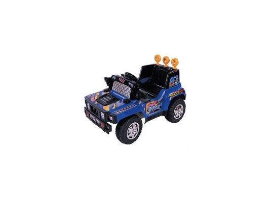 Электромобиль Kids Cars Джип (аккумуляторно-зарядный, с пультом управления, цвет синий)