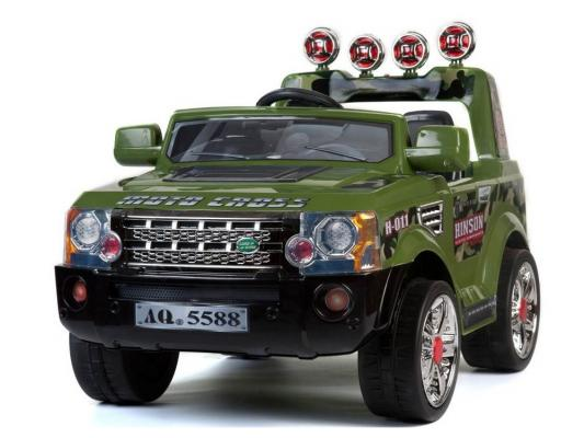 Электромобиль Kids Cars Джип Rover JJ012A (милитари)