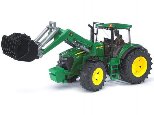 Трактор-погрузчик Bruder John Deere 7930 зеленый 1 шт