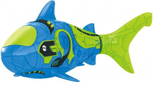 Интерактивная игрушка ZURU Robofish Тропическая РобоРыбка акула от 3 лет синий 2549-9