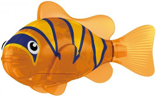 Интерактивная игрушка ZURU Robofish Тропическая РобоРыбка Бычок от 3 лет оранжевый