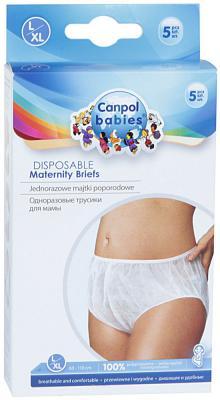 Купить Трусики Canpol для мамы одноразовые размер L/XL 5 шт. 9/600