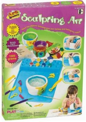 Набор для лепки PLAYGO Скульптор 8511 наборы для творчества playgo набор скульптор