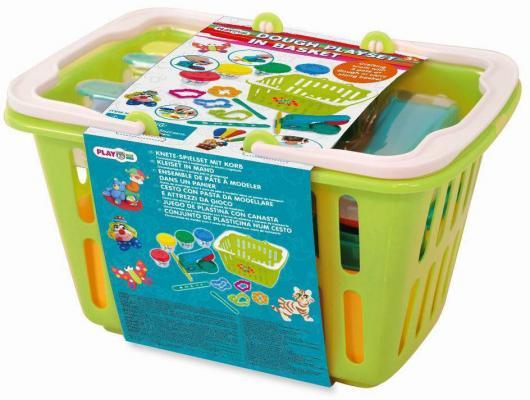PlayGo Набор с пластилином и аксессуарами в корзине 8750 набор бытовой техники playgo