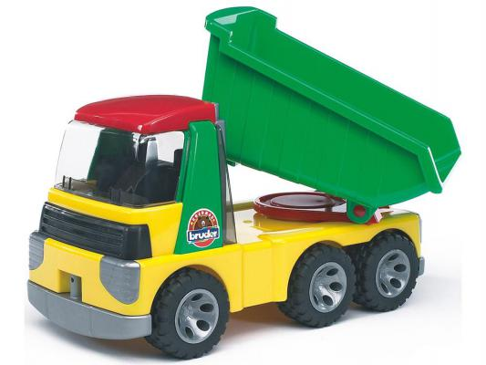 Грузовик Bruder RoadMax разноцветный 1 шт 36.5 см
