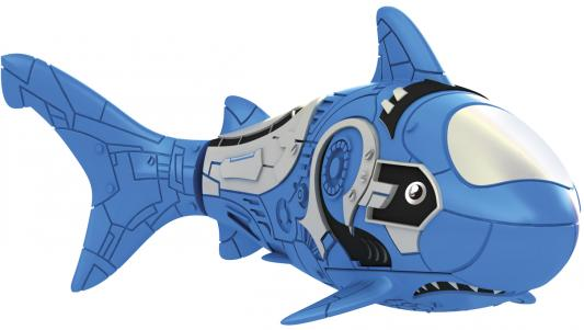 Интерактивная игрушка ZURU RoboFish акула плавает в воде от 3 лет синий 2501-6 игрушка zuru robofish клоун с аквариумом yellow 2502
