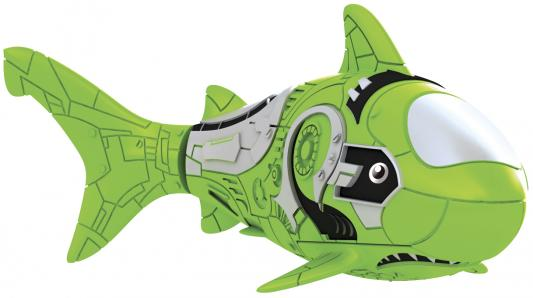 Интерактивная игрушка ZURU RoboFish акула плавает в воде от 3 лет зелёный 2501-7 игрушка zuru robofish клоун с аквариумом yellow 2502