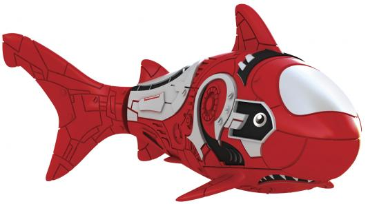 Интерактивная игрушка ZURU RoboFish акула плавает в воде от 3 лет красный 2501-8