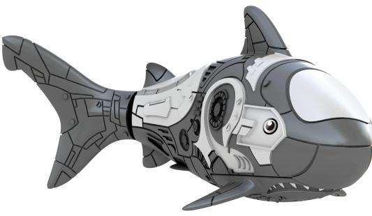 Интерактивная игрушка ZURU RoboFish акула плавает в воде от 3 лет серый 2501-5