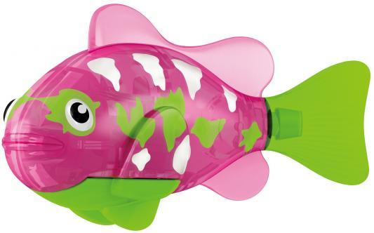 Интерактивная игрушка ZURU Тропическая РобоРыбка Собачка от 3 лет розовый 2549-2 zuru zuru роборыбка на дистанционном управлении