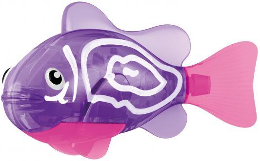 Интерактивная игрушка ZURU Robofish Тропическая РобоРыбка Хромис от 3 лет фиолетовый 2549-1