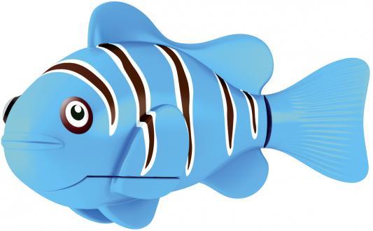 Интерактивная игрушка ZURU Robofish Клоун электронная рыба робот от 3 лет голубой 2501-3 игрушка zuru robofish акула grey 2501 5