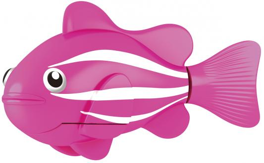 Интерактивная игрушка ZURU Robofish Клоун электронная рыба робот от 3 лет розовый 2501-2 zuru роборыбка немо в поисках дори zuru