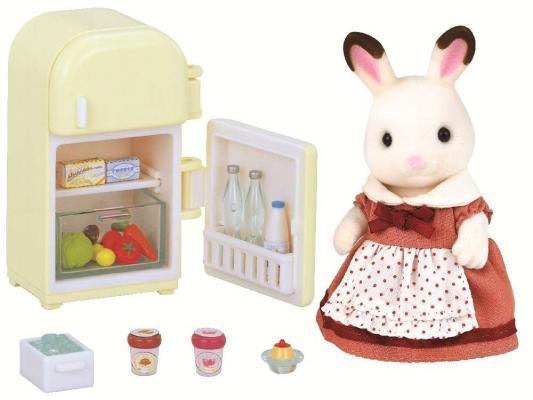 Игровой набор Sylvanian Families Мама кролик и холодильник 2202 sylvanian families игровой набор холодильник с продуктами