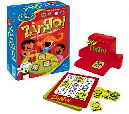 Настольная игра Think Fun развивающая Детское лото Обучай-ка 7700-RU игра карточная ранок ка за зя ка
