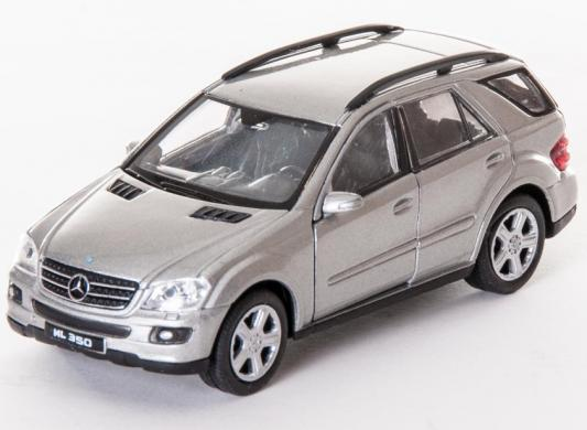 Автомобиль Welly Mercedes-Benz ML350 1:34-39 серый