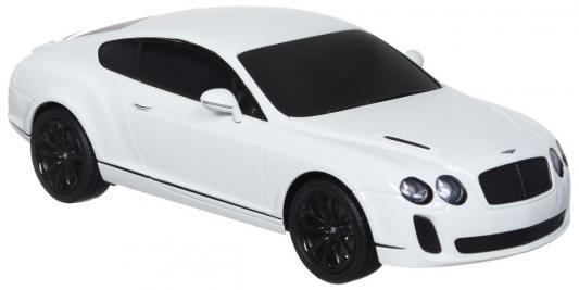 Автомобиль Welly Bentley Continental Supersports 1:24 белый 24018 welly 24018 велли модель машины 1 24 bentley continental supersports