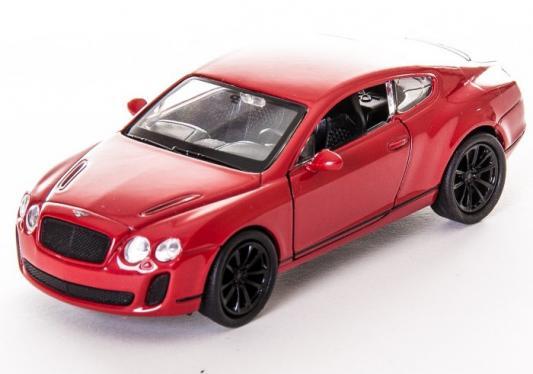 Автомобиль Welly Bentley Continental Supersports 1:34-39 белый автомобиль welly nissan gtr 1 34 39 белый