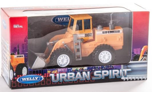 Погрузчик Welly LIFEHEER 1:60 оранжевый 99636