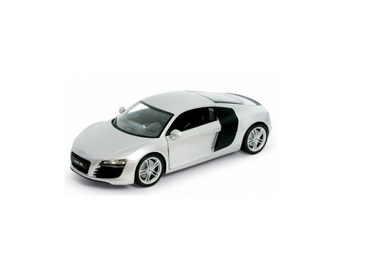 Автомобиль Welly Audi R8 1:34-39 белый welly модель машины 1 34 39 audi r8 welly