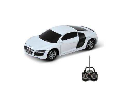 Машинка на радиоуправлении Welly Audi R8 V10 пластик от 8 лет белый 84004W