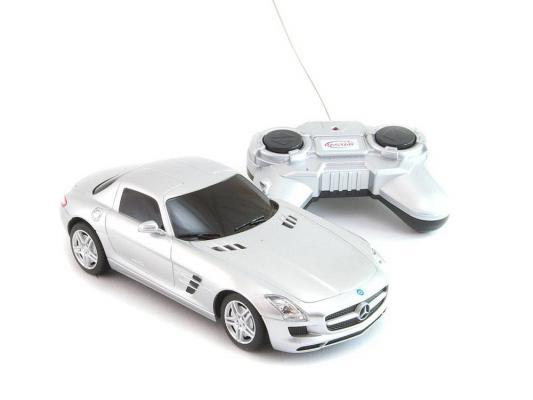Машинка на радиоуправлении WELLY Mercedes-Benz SLS AMG пластик от 3 лет цвет в ассортименте 84002W