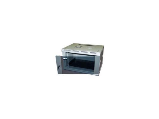 Шкаф настенный 12U Lanmaster TWT-CBW2-12U-6X4 600x450mm стеклянная дверь