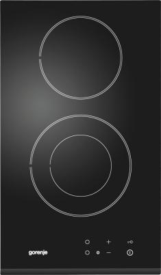 Стеклокерамическая варочная панель Gorenje ECT 330 CSC независимая сенсорное управление черный