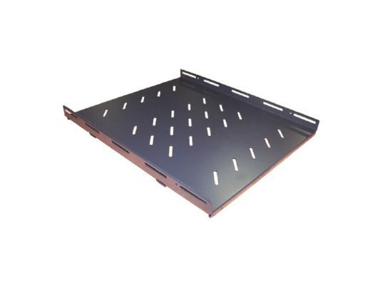 Полка Lanmaster TWT-CBB-S4-6/100 4 точки для напольных шкафов глубиной 600мм до 100кг блок 2 х вентиляторов lanmaster twt cbe fan2 6 в крышу шкафа eco глубиной 600мм