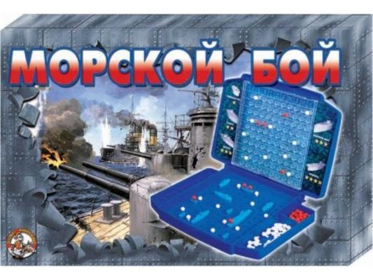 Настольная игра Десятое королевство логическая Морской бой (ретро) 00993 цена