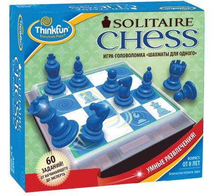 Настольная игра Think Fun логическая Шахматы для одного 3400-RU настольная игра биплант логическая дети шпионы 10026