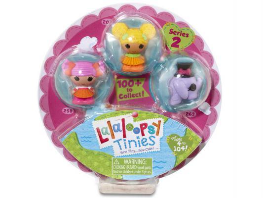 Купить Кукла Lalaloopsy Малютки 3 шт. 4 см 531647
