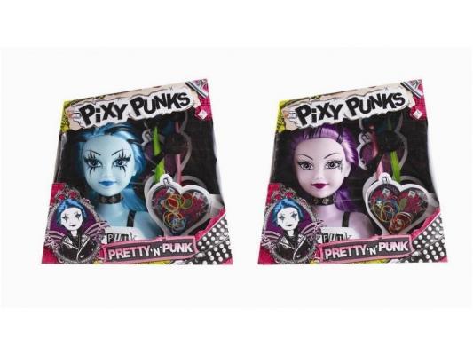 Игровой набор FUNVILLE Кукла-модель Pixy Punks для создания причесок с аксессуарами в ассортименте