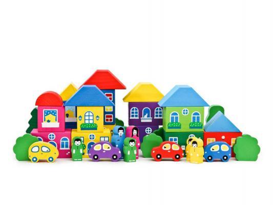 Конструктор Томик Цветной городок 41 элемент 8688-8 конструктор томик веселый городок 56 элементов 7678 1