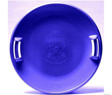 Ледянка Hamax UFO до 50 кг синий пластик