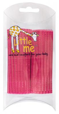 Ленты на выписку Little me 2 шт. по 2 метра Розовый полиэстор 88258 little me комплект из 8 ми пеленок