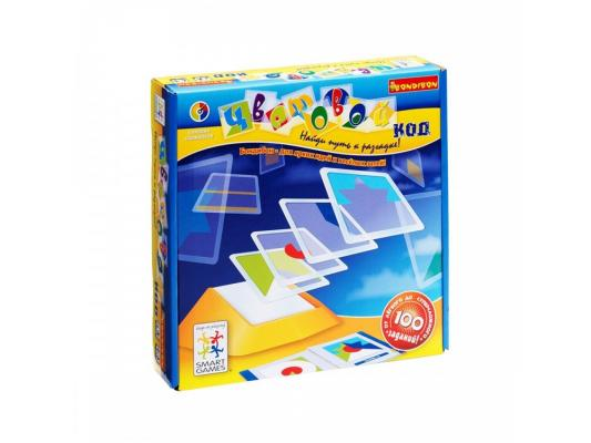 Купить Настольная игра BONDIBON развивающая Цветовой код BB0352, 19 х 10.5 х 0.5 см.(подставка) 8.5 х 8.5 см.(плитка) 24 х 24 х 6 см.(упаковка), Игры Bondibon