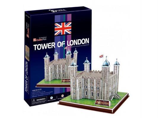 Пазл 3D CubicFun Лондонский Тауэр (Великобритания) 40 элементов C715H