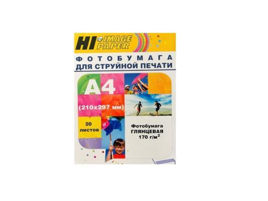Бумага Hi-Black A2106 А4 170г/м2 глянцевая 20л