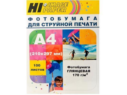 Бумага Hi-Black Н170-А4-100 А4 170г/м2 глянцевая 100л A21061