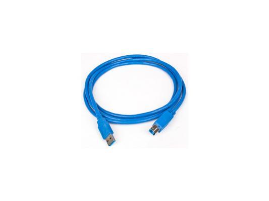 Кабель соединительный USB 3.0 AM-AM 1.8м Gembird экранированный синий CCP-USB3-AMAM-6 кабель dorewin usb usb3 0 1 5