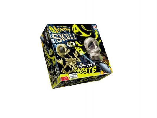 Интерактивная игрушка Fotorama Johnny the skull Джонни Скелетончик с пистолетом от 6 лет бежевый 0669