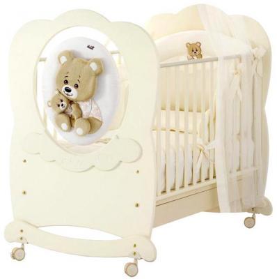 Кроватка-качалка Baby Expert Abbracci-Trudi (крем)
