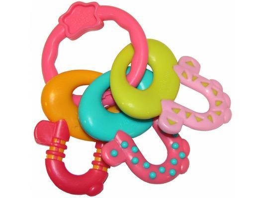 Прорезыватель Bright Starts Ключи принцессы разноцветный с 3 месяцев 8742 bright starts прорезыватель ключи принцессы