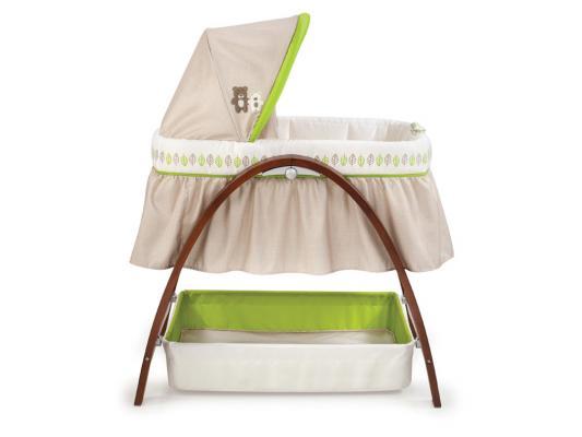 Кроватка-люлька Summer Infant BentWood (темное дерево)